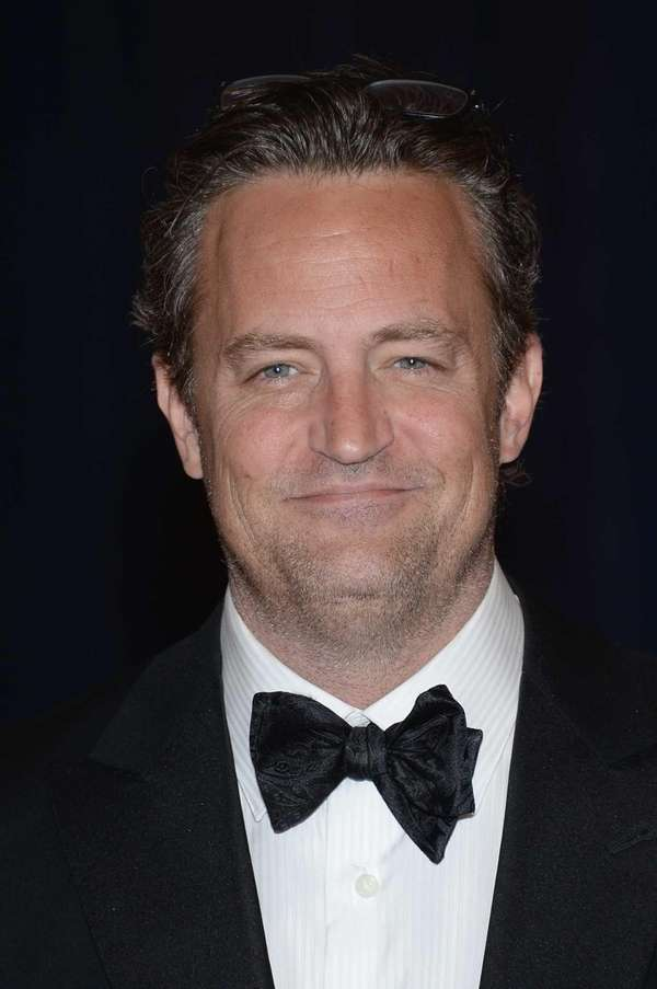 Matthew Perry attends the White House Correspondents' Association