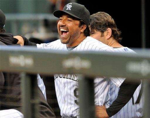 Former MLB player and Rockies special assistant