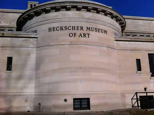 The Heckscher Museum of Art is located in