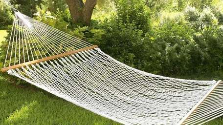 Do you get to hit the hammock --