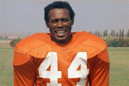 Pro Football Hall of Fame running back