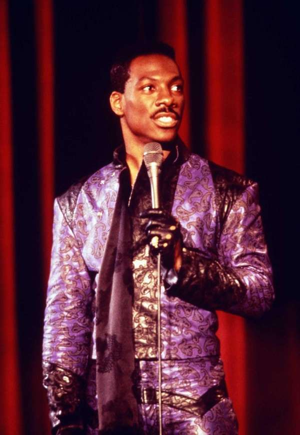 "In ""Raw,"" comedian Eddie Murphy earned that R"