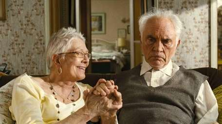 Vanessa Redgrave and Terrence Stamp in