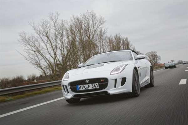 The 2014 Jaguar F-Type comes equipped with a