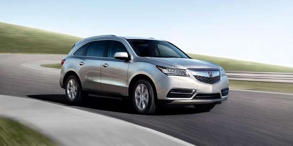 The 2014 Acura MDX is lighter and more