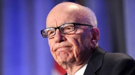 News outlets said the tape of Rupert Murdoch