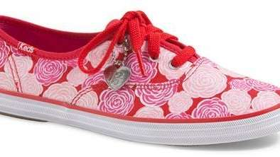 Taylor Swift has collaborated with Keds to create
