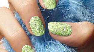 New Fuzzy Coat 3D nail effects by Sally