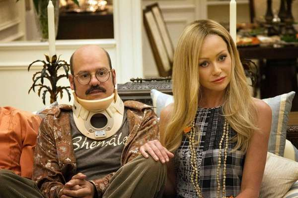 David Cross and Portia de Rossi in a