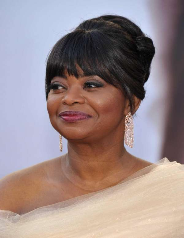 Actress Octavia Spencer arrives at the 85th Academy