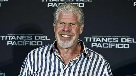 Ron Perlman during a press conference for