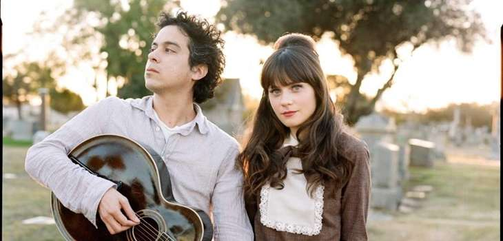"Music group ""She & Him,"" M. Ward and"