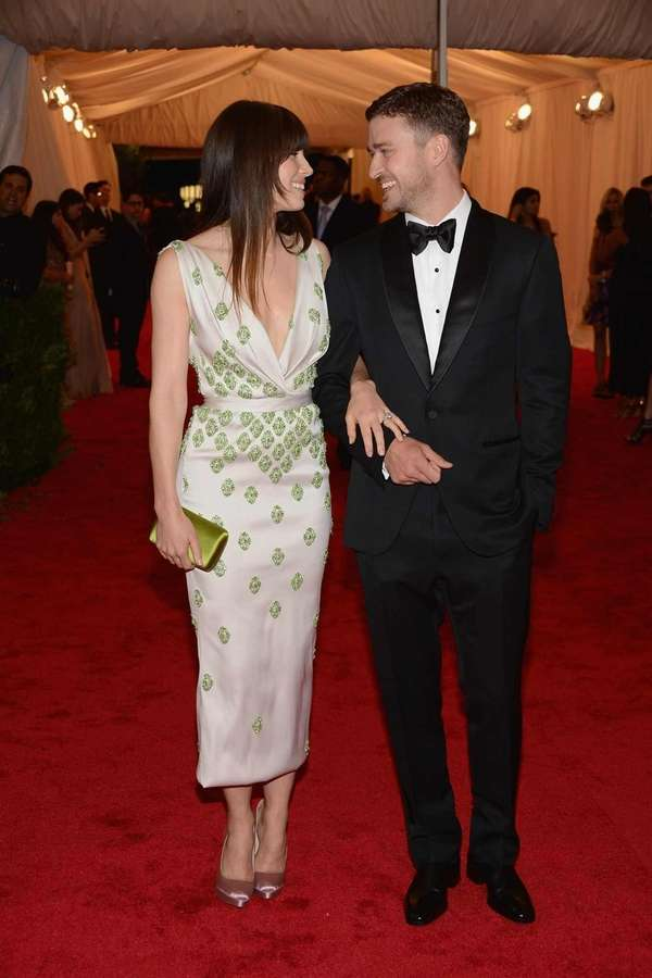 Celebrity couple Jessica Biel and Justin Timberlake, pictured