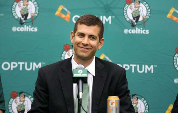 New Boston Celtics head coach Brad Stevens is