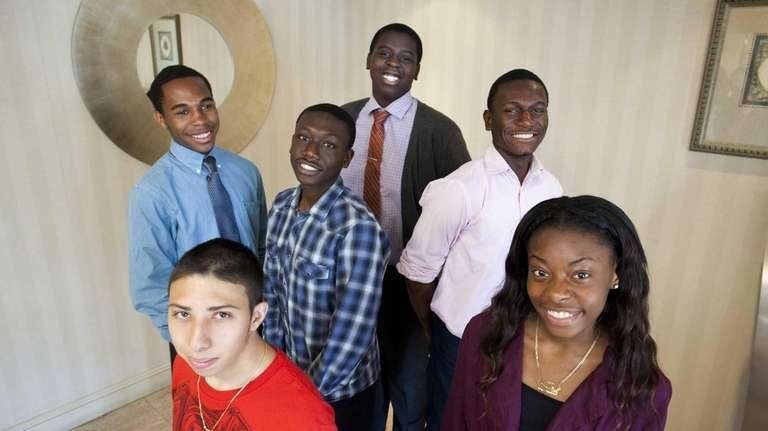 Central Islip teens who are participating in the