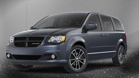 A 2013 Dodge Grand Caravan. The Chrysler Group