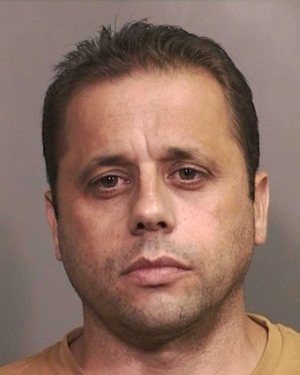 Spyridon Mouzakitis, of Bethpage, is charged with second