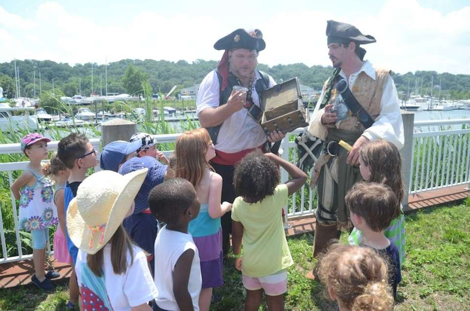 Kings of the Coast pirates invite children to