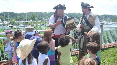 Kings of the Coast pirates invite children to