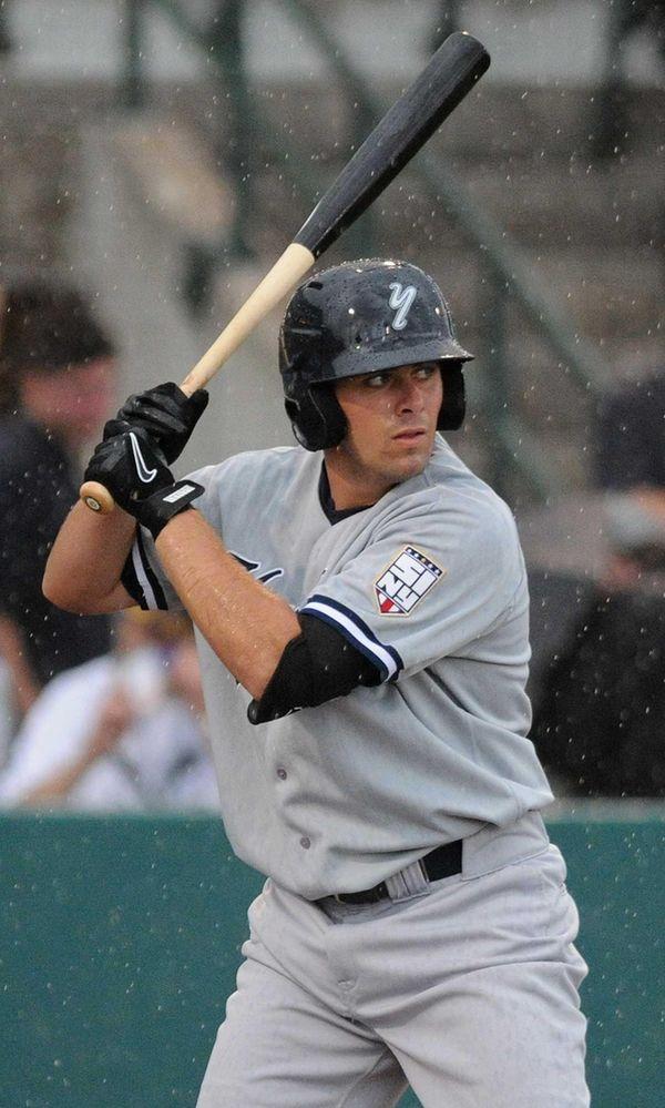 Staten Island Yankees centerfielder Michael O'Neill, a third
