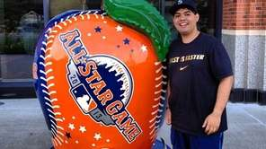 All-Star Game apple at Citi Field.