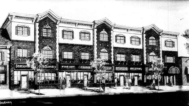 An artist's rendering shows the front of the