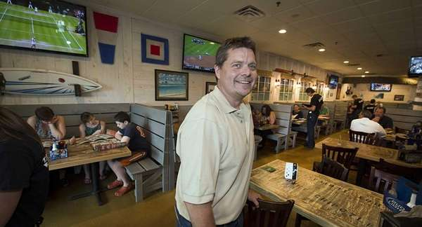 Hurricane Grill & Wings franchise owner Bob Engel