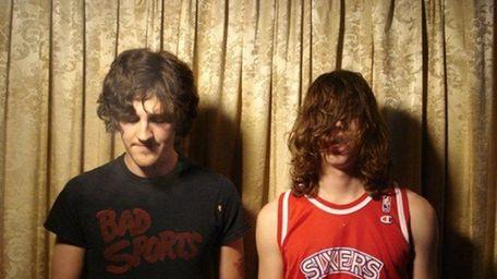 John Barrett, left, and Colin Sneed of Bass