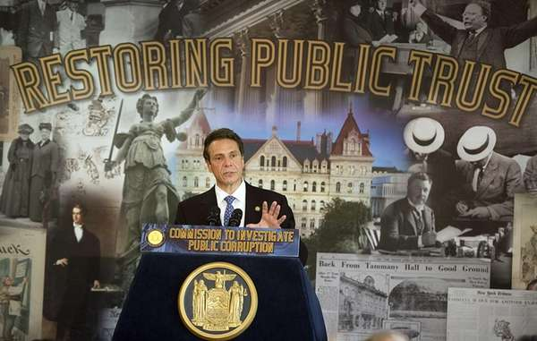 Governor Andrew Cuomo announces his appointment for the