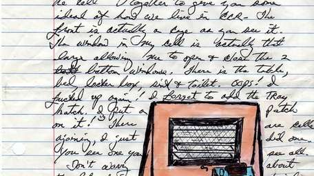 A letter from inmate Herman Wallace to artist