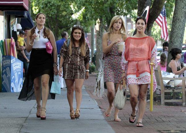 From left, Chanel Omari, Ashlee White, Casey Cohen