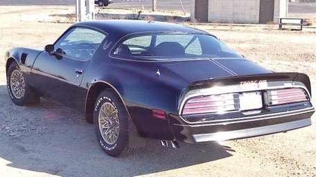 The 1977 Pontiac Firebird Trans Am hardtop coupe