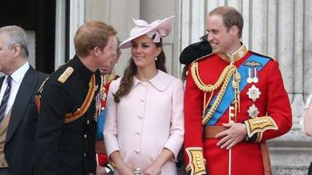 Prince William and Kate share a moment with