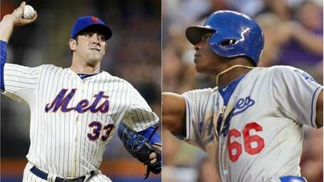 MATT HARVEY, Mets vs. YASIEL PUIG, Dodgers Harvey