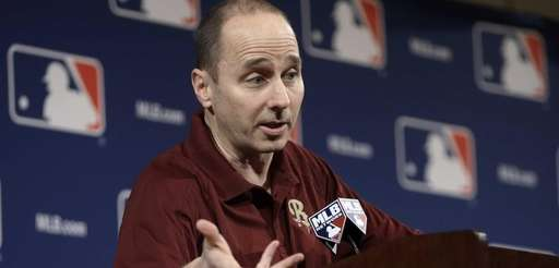 Brian Cashman answers questions concerning third baseman