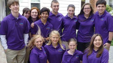 The Hamptones, a new teen a capella group,