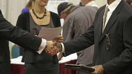 The Labor Department said Tuesday that job openings