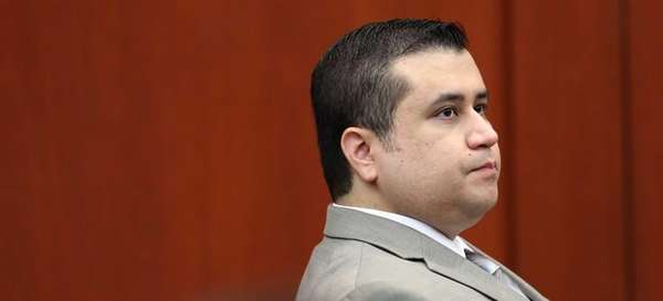 George Zimmerman listens at his trial in Seminole