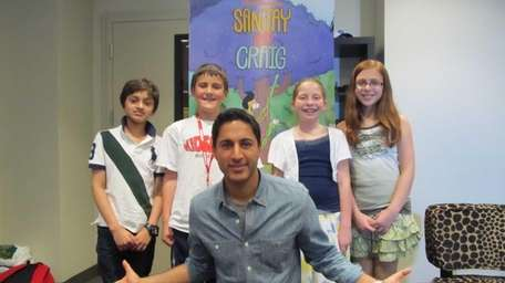 Maulik Pancholy, the voice of Sanjay, from the