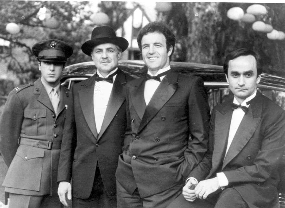 """""""The Godfather"""" (1972): Pacino was nominated for a"""