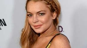Lindsay Lohan at the premiere of Dimension Films'