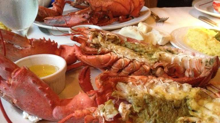Wednesday is lobster night at the Rose Hunt
