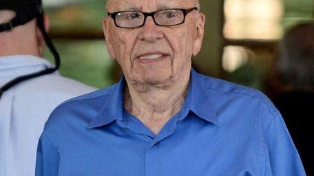 News Corp. chief Murdoch was in Sun Valley,