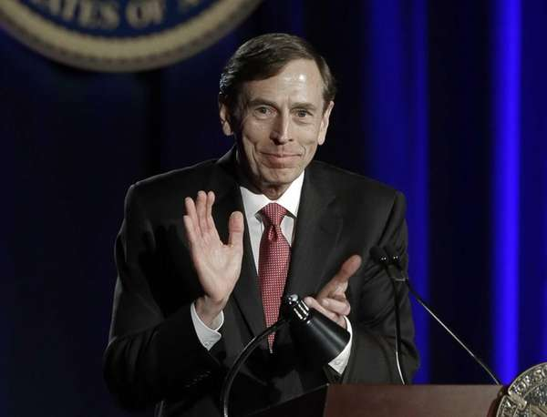 David H. Petraeus, former army general and head
