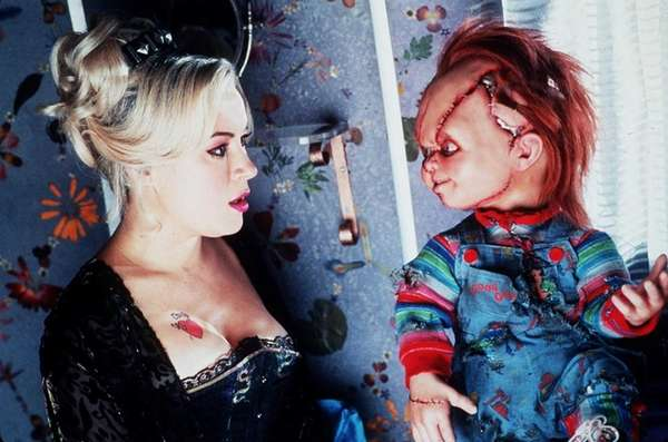 """Bride of Chucky,"" starring Jennifer Tilly."