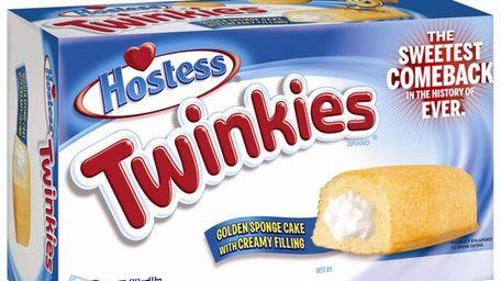 The new Twinkies box bears the tagline,