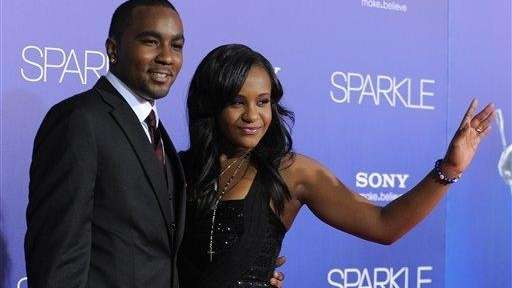 Bobbi Kristina Brown and Nick Gordon attend the