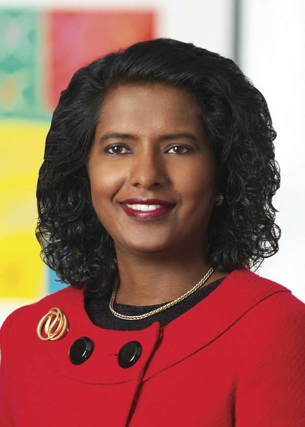 Ruby Chandy, a group vice president with the