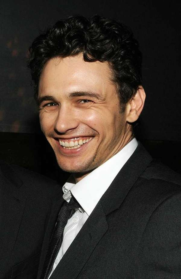 Actor James Franco attends