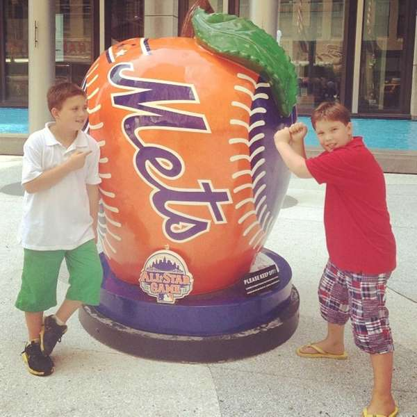 Photo credit: Instagram user jessicawalshnyc | Mets' All-Star